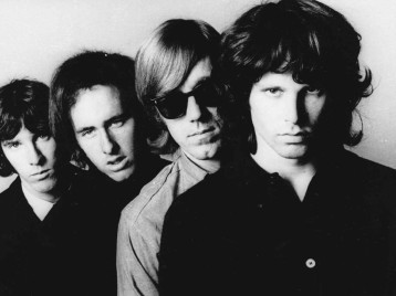 The Doors: John Densmore, Robby Krieger, Ray Manzarek, and Jim Morrison
