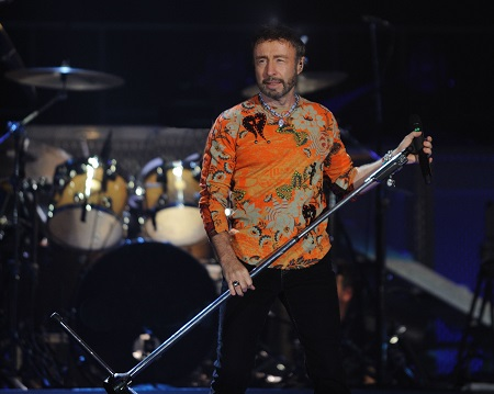 Paul Rodgers onstage in Moscow.