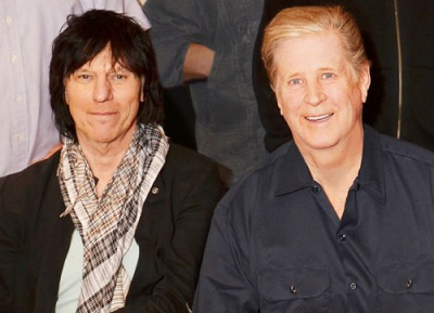 Jeff Beck and Brian Wilson