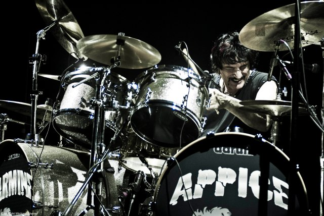 Carmine Appice today. Courtesy of Rocker Records.