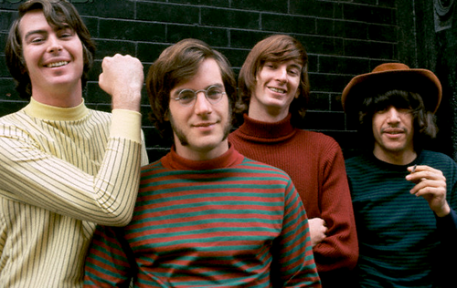 The original Lovin' Spoonful: Joe Butler, John Sebastian, Steve Boone, and Zal Yanovsky