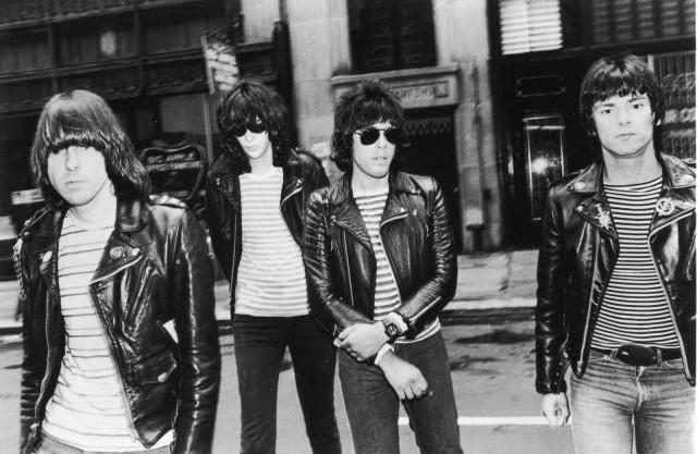 Da Bruddahs: Johnny, Joey, Marky, and Dee Dee Ramone