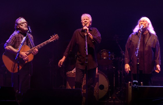 CSN today, with harmonies still soaring high. Photo by Chris Kissinger/Jensen Communications.