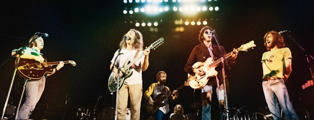 CSNY on the 1974 tour. Photo courtesy of Rhino.