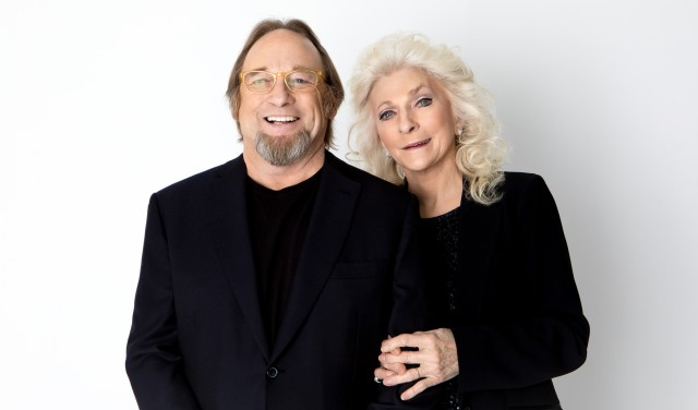 Stephen Stills and Judy Collins portrait by Anna Webber 12/05/2016 Los Angeles CA